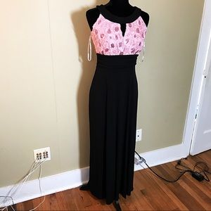 NEW light pink sequin prom dress